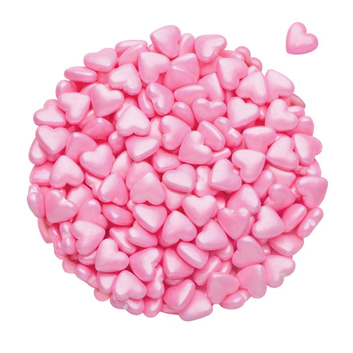 DR GUSTO Küçük Pembe Kalp Şeker 90 gr