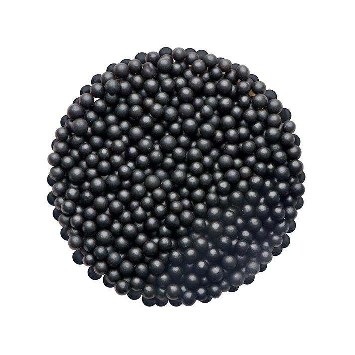 DR GUSTO 2 mm Siyah Boncuk Şeker 90 gr